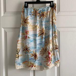 Roxy Flowered Skirt